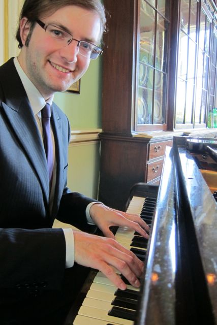 Tim Croston at the keyboard